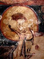 Licodia Eubea, pannello pittorico Grotte dei Santi. (4361 clic)