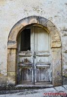 Vecchia porta bianca   - Palazzolo acreide (2404 clic)
