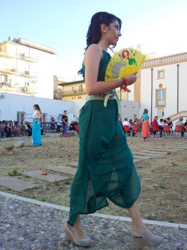 in verde - sfilata ISOLA di Filli Cusenza - BAGHERIA - inserita il 19-Jun-13