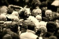 Gesù Cristo fra la gente. Manifestazione religiosa che si ripete ogni anno l'ultimo venerdì di Marzo. se si accavalla col venerdi Santo, si anticipa di una settimana.  - San marco d'alunzio (2718 clic)