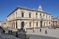 Il palazzo Comunale   - Palazzolo acreide (3379 clic)