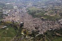 Veduta aerea di Leonforte (5453 clic)