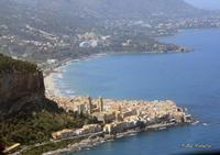 Veduta aerea di Cefalù. (5658 clic)