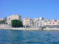 Isola di Ortigia - Fonte Aretusa vista dal porto grande  - Siracusa (2588 clic)