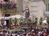 Piazza duomo - processione S. Lucia  - Siracusa (6635 clic)