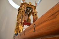 San Sebastiano La vara dei fratelli Li Volsi (1611) e la statua del Santo patrono (Noè Marullo XX sec.)  - Mistretta (5084 clic)