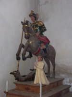 San Giorgio con il drago - Chiesa san Giorgio Novara di Sicilia  - Novara di sicilia (6028 clic)