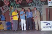 Giro Podistico Internazionale di Novara di Sicilia 2004 - autorità presenti: ninni Stancanelli Presidente; Michele Truscello Sindaco; Dott. Testa Assessore Provinciale Turismo, Marcellino Speaker  - Novara di sicilia (6648 clic)