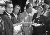 1951 Impellitteri Vincenzo sindaco di New York in visita a Isnello (3446 clic)