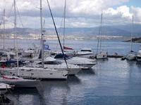Tramonto azzurro (Porto di Messina) (906 clic)