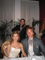 Al Castello Chiaramonte di Siculiana con Sebastian Harrison ( Attore in Kiss me Licia) e Linda Gucciardo.  - Agrigento (3199 clic)