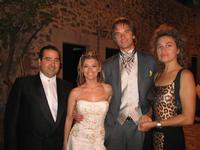 Con Sebastian Harrison and wife e Lory Del Santo  - Agrigento (4253 clic)