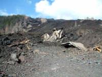 eruzione del 2002,piano Provenzana, rifugio Sapienza  - Etna (3524 clic)