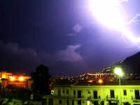fulmine su Monreale  - Palermo (2807 clic)