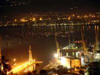 barche dinnanzi il porto in attesa dei giochi pirotecnici per il festino PALERMO Rosario Trifirò