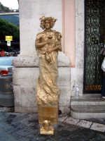 taormina, statua vivente  - Taormina (2964 clic)