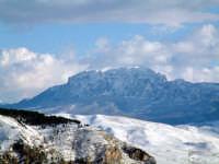 Rocca Busambra innevata  - Piana degli albanesi (5587 clic)