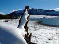 lago innevato PIANA DEGLI ALBANESI Rosario Trifirò