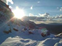 Tramonto su monte Jato  - San giuseppe jato (5887 clic)