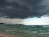 Temporale estivo sulla spiaggia di San Vito lo capo  - San vito lo capo (28875 clic)