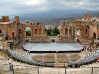 Teatro greco di Taormina   - Taormina (10220 clic)