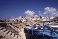 Veduta dal porto del paesino di Selinunte  - Selinunte (2430 clic)