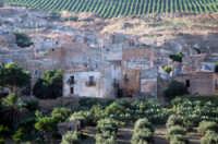 Veduta del paese di Poggioreale abbandonato dopo il terremoto del 68'  - Poggioreale (6419 clic)