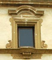 Particolare del convento delle Benedettine Batia  - Partanna (4170 clic)