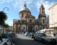 Palermo Chiesa di San Saverio Oggetto di attenzione dele bombe francesi nel giugno del 1940 carlo ir