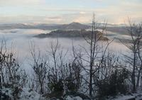 nuvole basse su Calascibetta (657 clic)