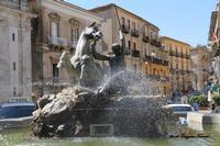 Caltanissetta - fontana del Tritone (1230 clic)