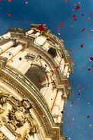 Festeggiamenti per San Giorgio Duomo di San Giorgio, durante i festeggiamenti per il Santo Patrono  - Modica (1856 clic)