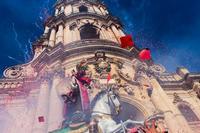 Festeggiamenti per San Giorgio Duomo di San Giorgio, durante i festeggiamenti per il Santo Patrono  - Modica (1849 clic)