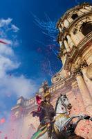 Festeggiamenti per San Giorgio Duomo di San Giorgio, durante i festeggiamenti per il Santo Patrono  - Modica (2176 clic)