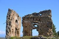 Ruderi del castello ducale dei Gravina. Foto scattata in data 12 febbraio 2012. Foto di Michele Iannizzotto  - San michele di ganzaria (2190 clic)