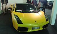 Una bella Lamborghini Gallardo Dopo la Punto quasi quasi..... Palermo MARCO GIUSEPPE DE GAETANO