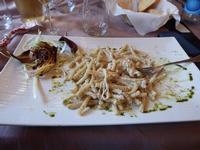 PORNO FOOD Busiati con crema di pistacchio, panna e scamorza PALERMO MARCO GIUSEPPE DE GAETANO