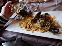 PORNO FOOD Busiati con salsa di cozze PALERMO MARCO GIUSEPPE DE GAETANO