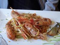 PORNO FOOD Tagliatelle fresche all'astice e salsa di carciofi PALERMO MARCO GIUSEPPE DE GAETANO