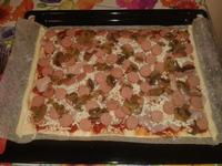 PORNO FOOD Pizza casereccia fatta con mie manine: Capricciosa..........moooooooolto capricciosa :p P