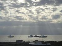 timidi raggi di sole sul mare  - 15 gennaio 2012  - Nubia (486 clic)