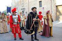 Corteo Rievocazione Storica dell'investitura a 1° Principe della Città di Carlo d'Aragona e Tagliavia - 26 maggio 2012 - Foto di Nicolò Pecoraro  - Castelvetrano (555 clic)