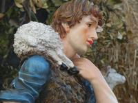 Primo Presepe artistico particolare - 8 gennaio 2012  - Marinella di selinunte (882 clic)