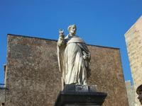 statua del Beato Alberto - 1 aprile 2012  - Erice (677 clic)