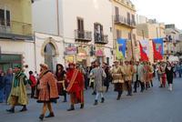 Corteo Rievocazione Storica dell'investitura a 1° Principe della Città di Carlo d'Aragona e Tagliavia - 26 maggio 2012 - Foto di Nicolò Pecoraro  - Castelvetrano (562 clic)