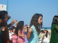 4° Festival Internazionale degli Aquiloni - I Soffi del Mondo, danze di differenti paesi a cura dell'Associazione Interculturale Narramondi Onlus - 24 maggio 2012  - San vito lo capo (220 clic)