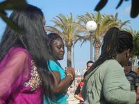 4° Festival Internazionale degli Aquiloni - I Soffi del Mondo, danze di differenti paesi a cura dell'Associazione Interculturale Narramondi Onlus - 24 maggio 2012  - San vito lo capo (239 clic)