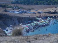 piccola spiaggia di sassi Golfo del Cofano - 23 agosto 2012  - Macari (496 clic)