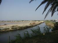 imbarcadero per l'Isola di Mozia e saline - Riserva Naturale Orientata Isole dello Stagnone - 5 agosto 2012  - Marsala (315 clic)