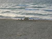 Spiaggia Plaja - castello di sabbia in riva al mare - 15 giugno 2012  - Castellammare del golfo (215 clic)